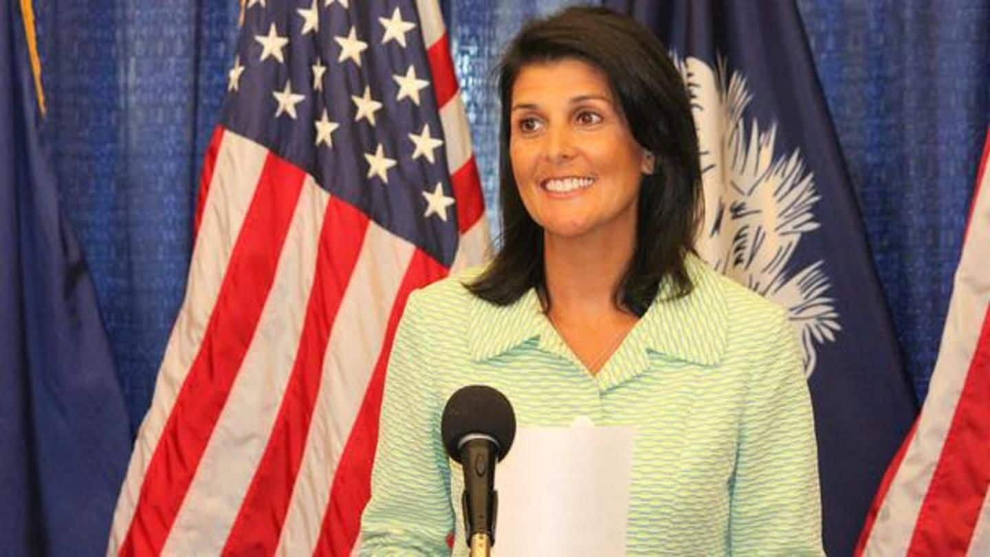 Nikki Haley in India on maiden-visit as US-Envoy to UN