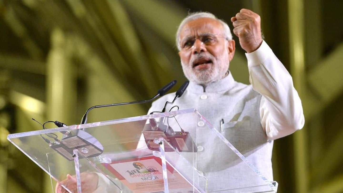 #2019polls: Modi formulates mantra for BJP-workers 'Mera Booth Sabse Mazboot'
