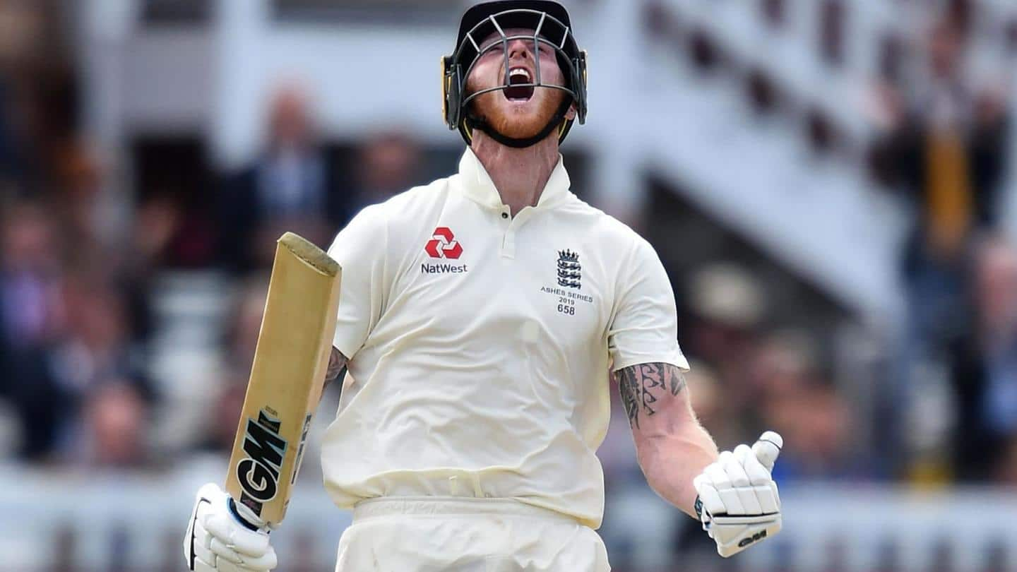 Ben Stokes named Wisden's Leading Cricketer of the Year