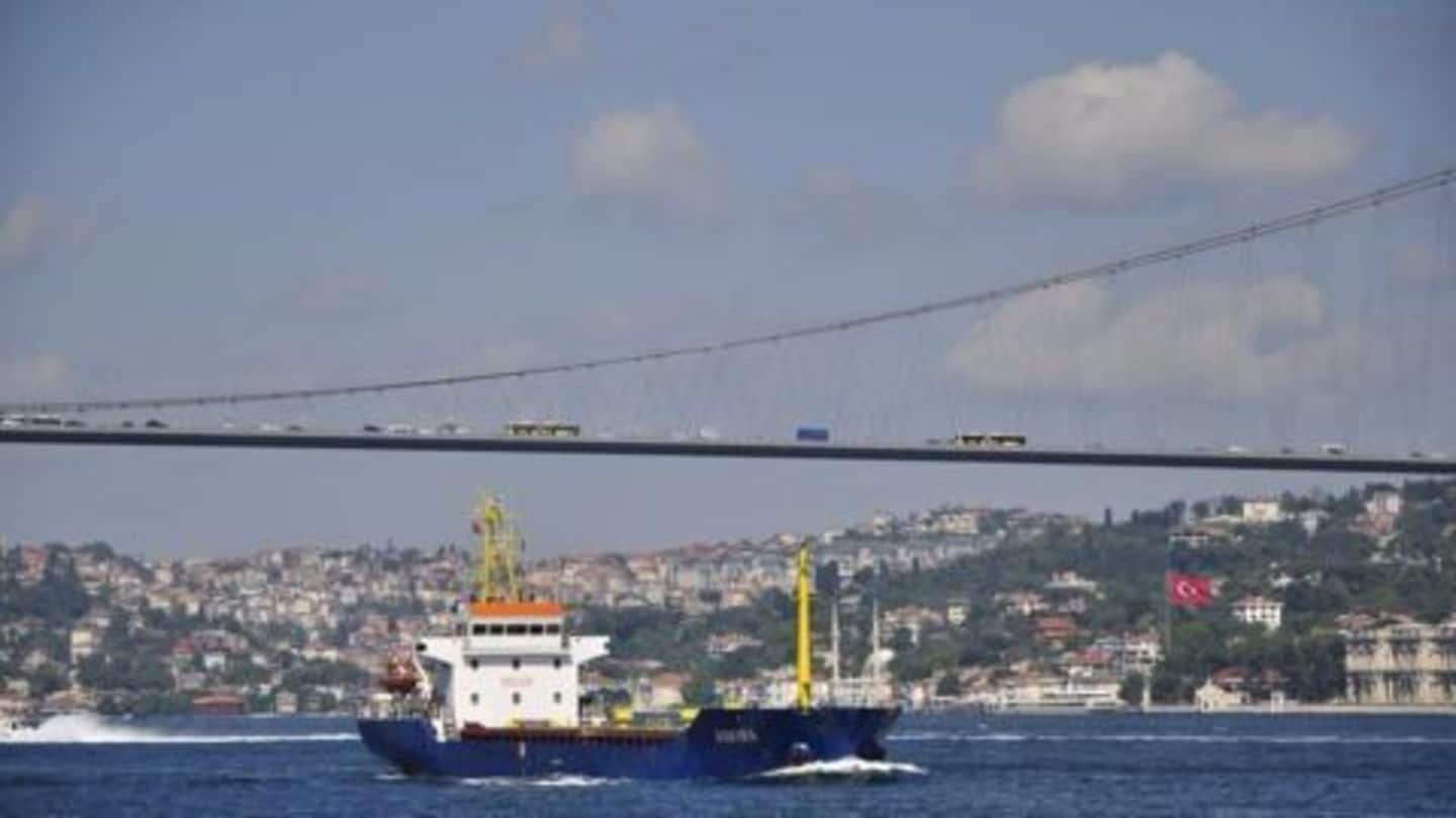 Turkey's President opens suspension bridge connecting Europe and Asia