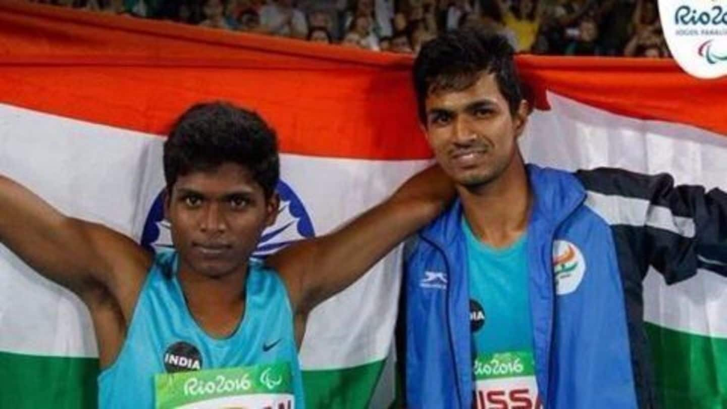 India wins two medals at 2016 Paralympics