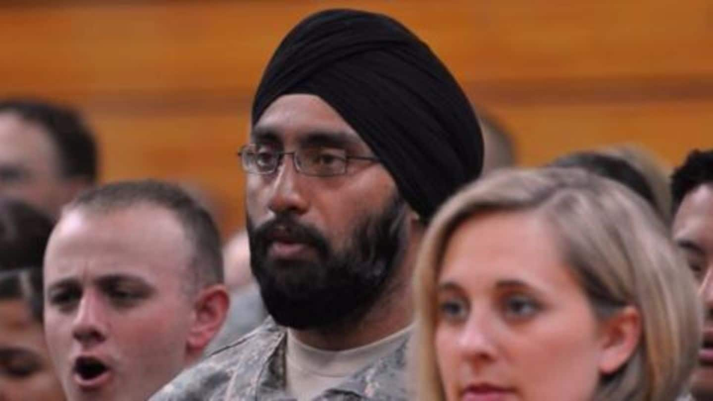 US allows permanent religious accommodation for Sikhs in US army