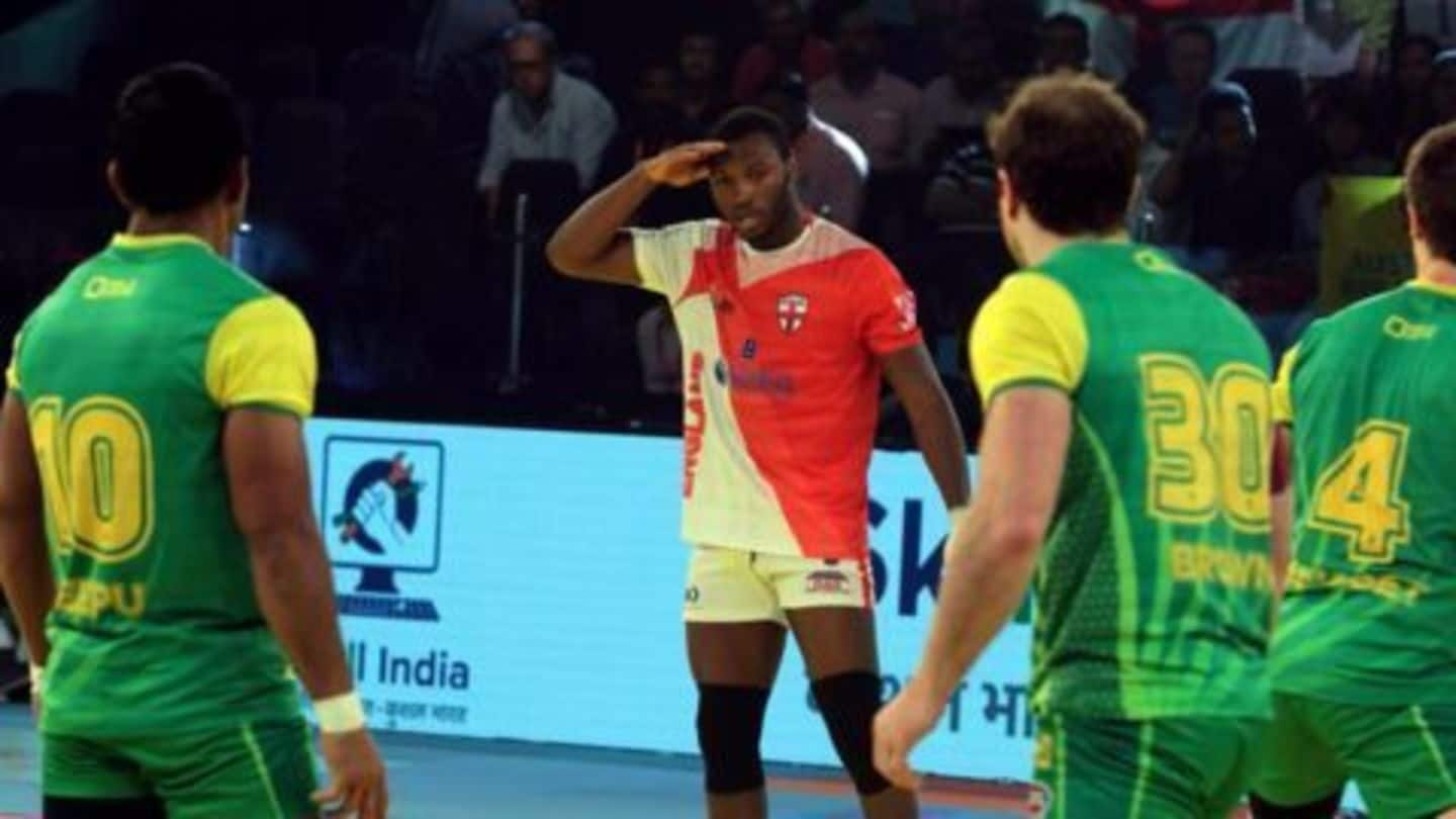Adewalure leads England to defeat Australia in Kabaddi WC