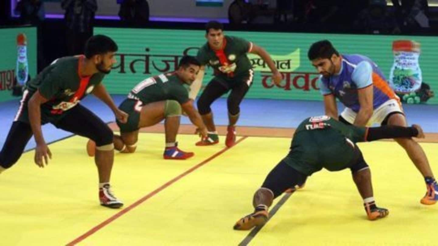 India thrashes Bangladesh 57-20 in Kabaddi World Cup