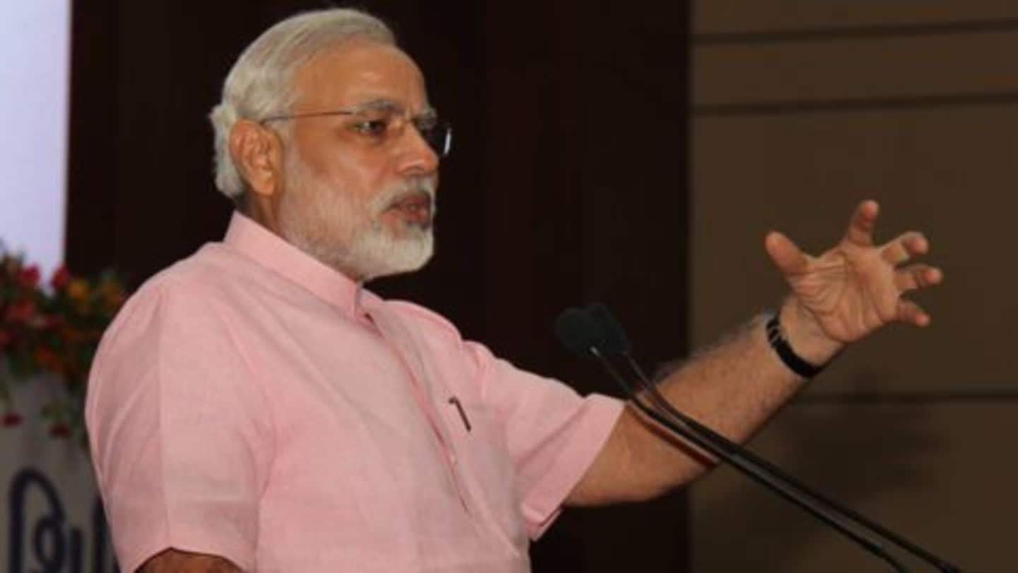 Got back black money without surgical strike: Modi