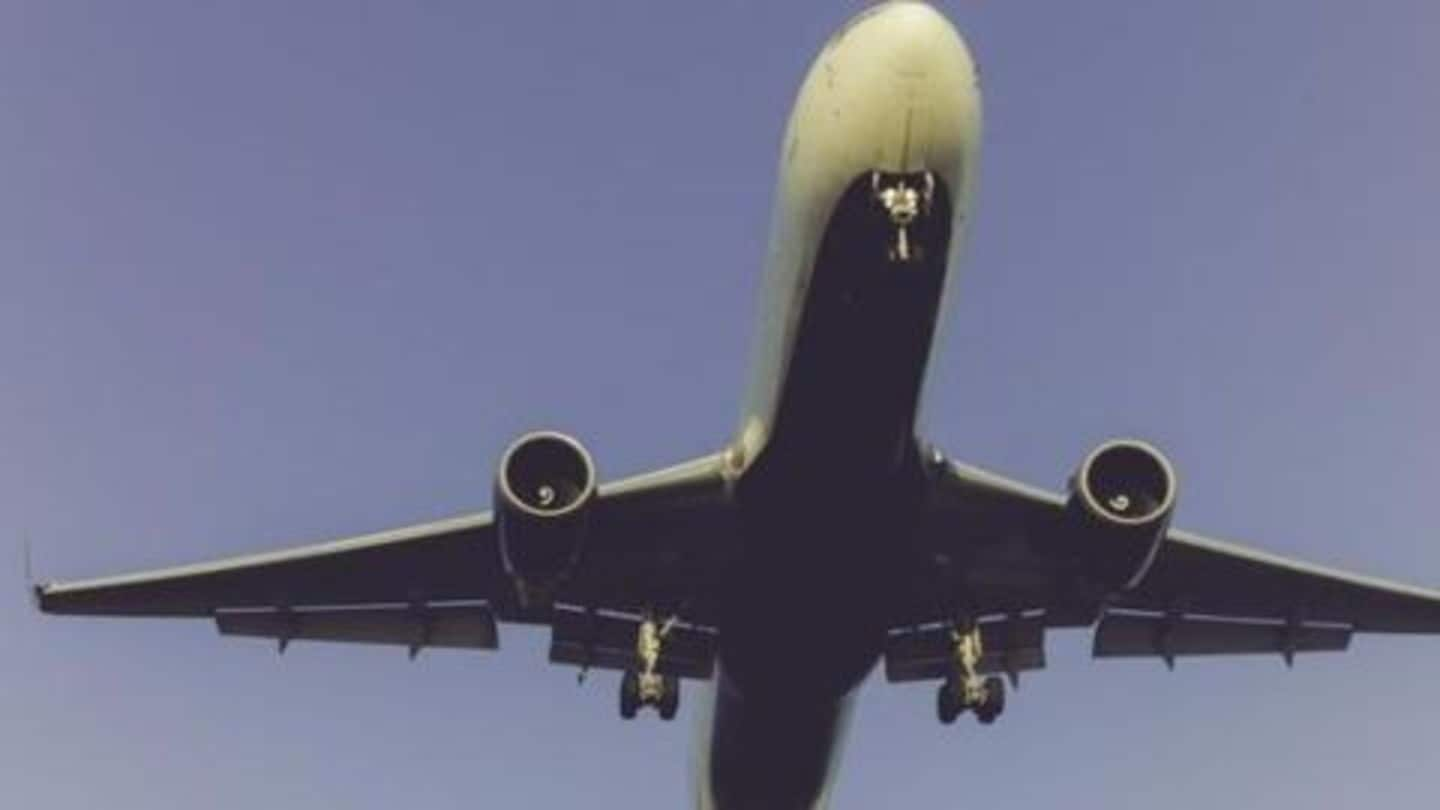 American Airlines engine catches fire in Chicago