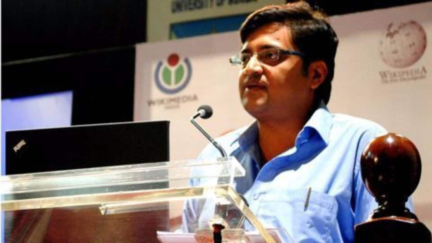 Arnab wants to be a 'dissenter', hints at his digital-plans