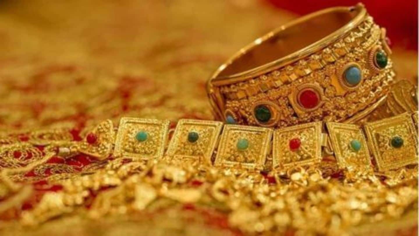 Gold sees a sharp rise