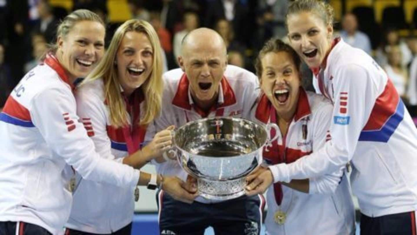Czech Republic beat France to retain the Fed Cup
