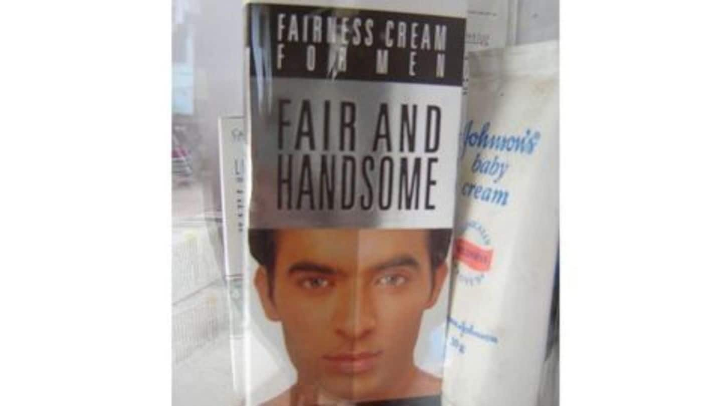 Fairness creams' market share appears to be shrinking