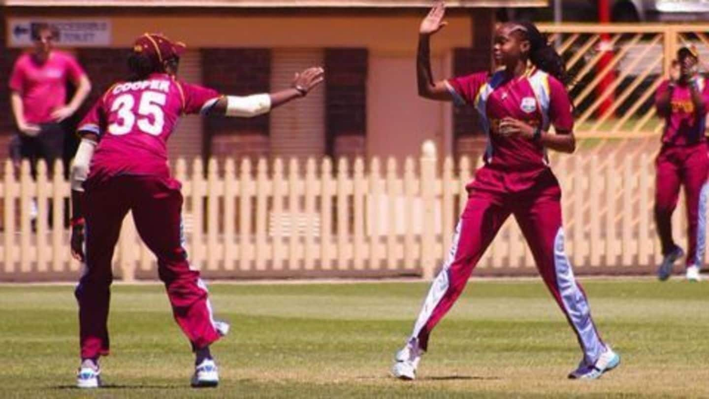 WI win second T20 against Indian women's cricket team