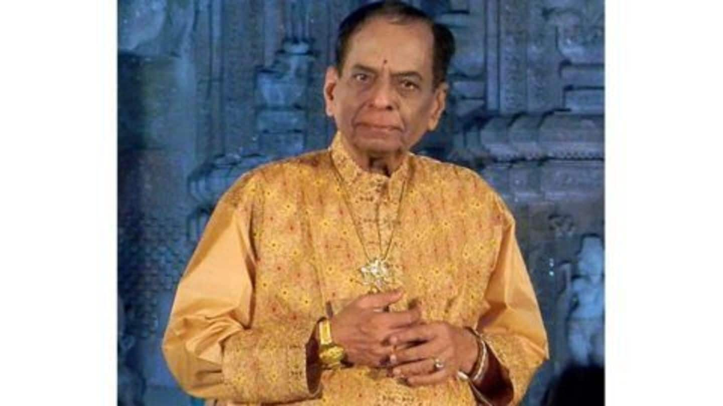 Carnatic music legend M Balamuralikrishna passes away