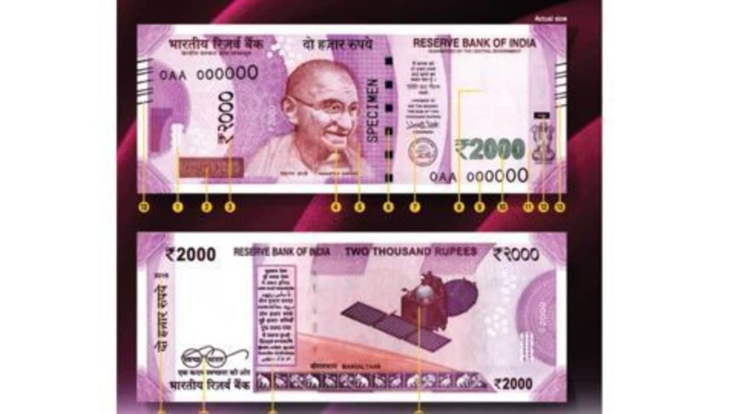 Post office savings accounts allow deposits of Rs.500/1000 notes