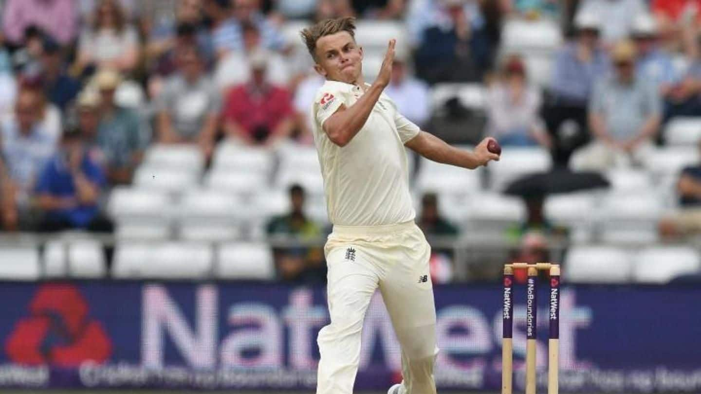 England's Sam Curran is a knight in shining armor