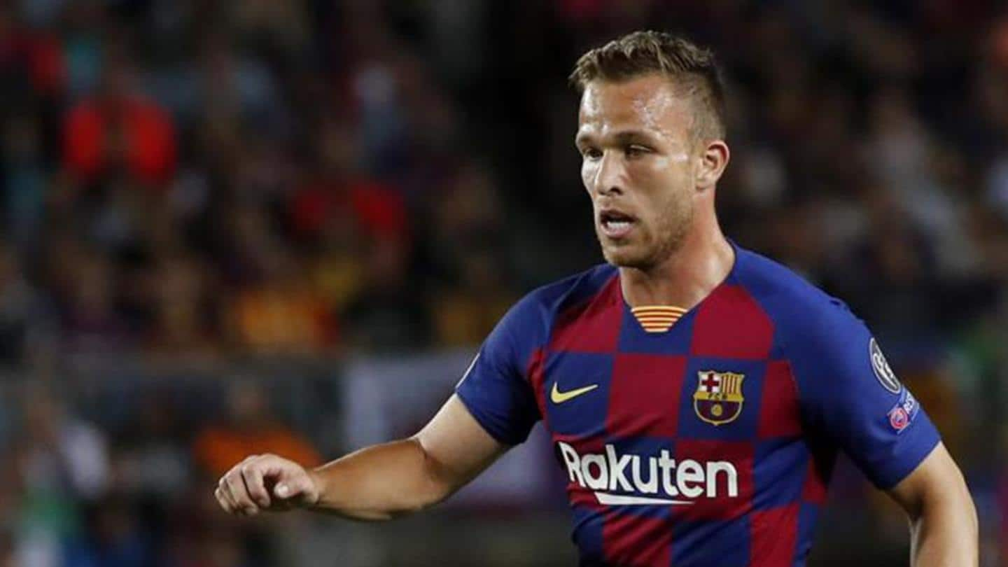 Juventus hope to convince Arthur despite agreeing fee with Barcelona