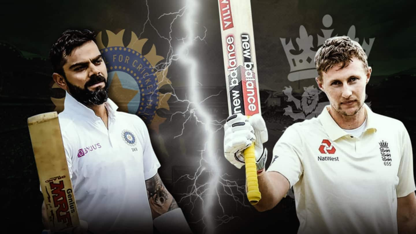 India vs England: Statistical preview of Test series