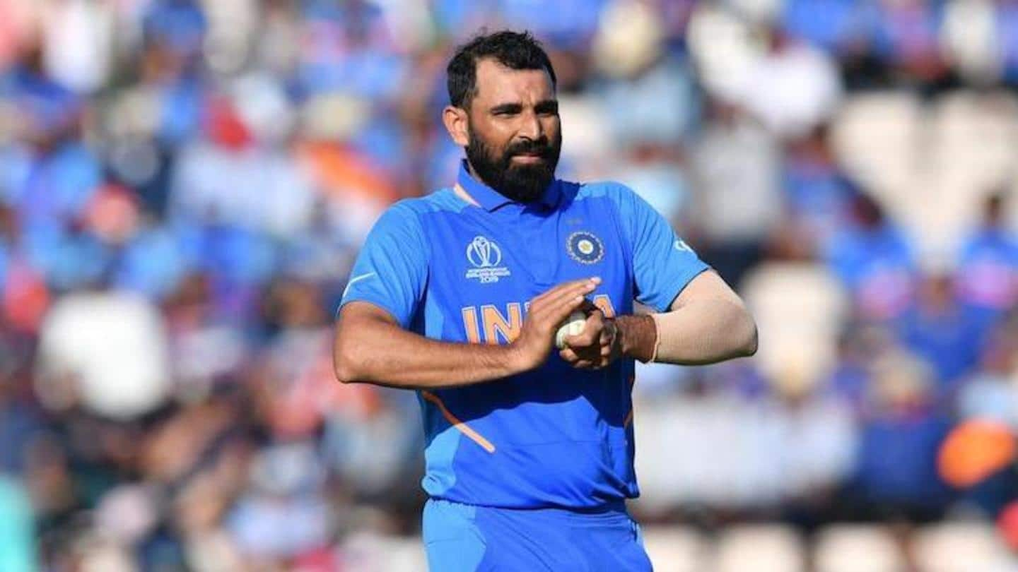Mohammed Shami 'very comfortable' ahead of Australia series