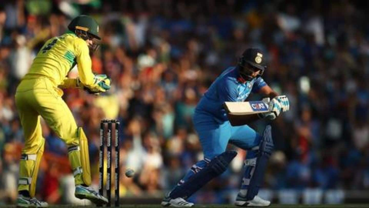Australia beat India in first ODI: Here're records broken