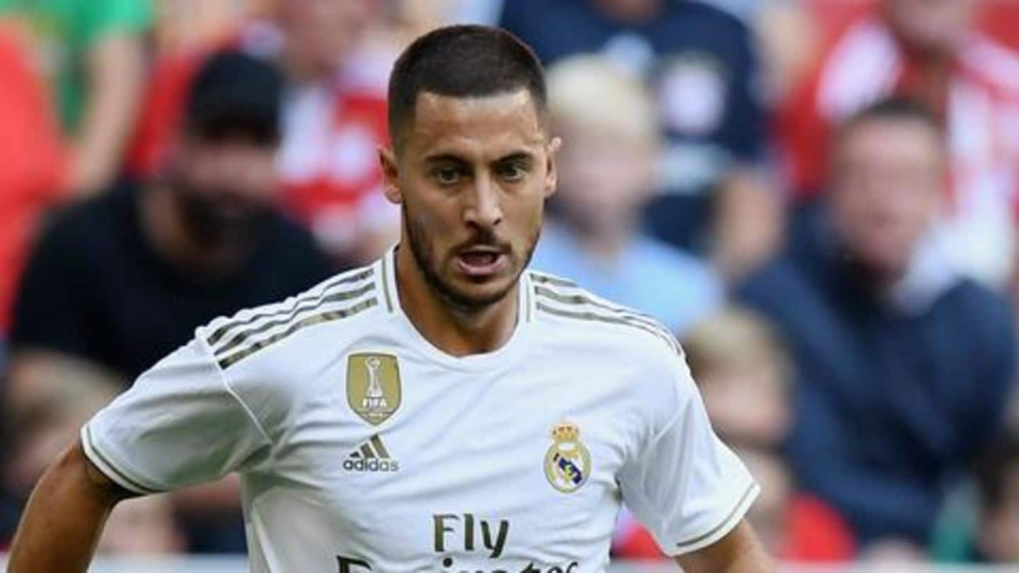 My first season with Real Madrid has been bad: Hazard