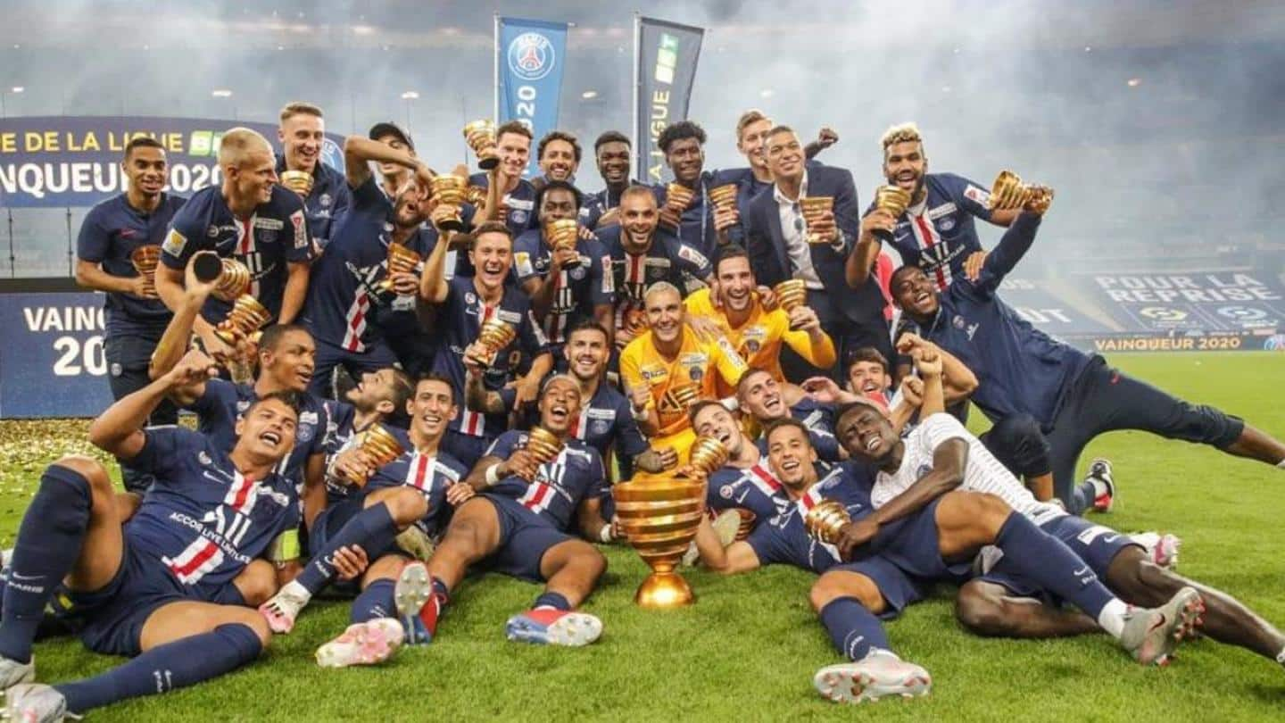 PSG claim domestic treble: A look at the key numbers
