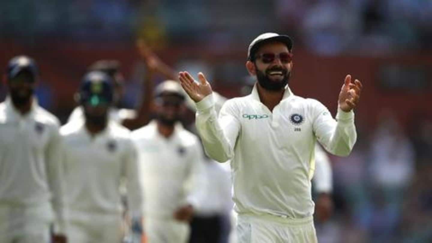 Everything about the second Test match between Australia and India
