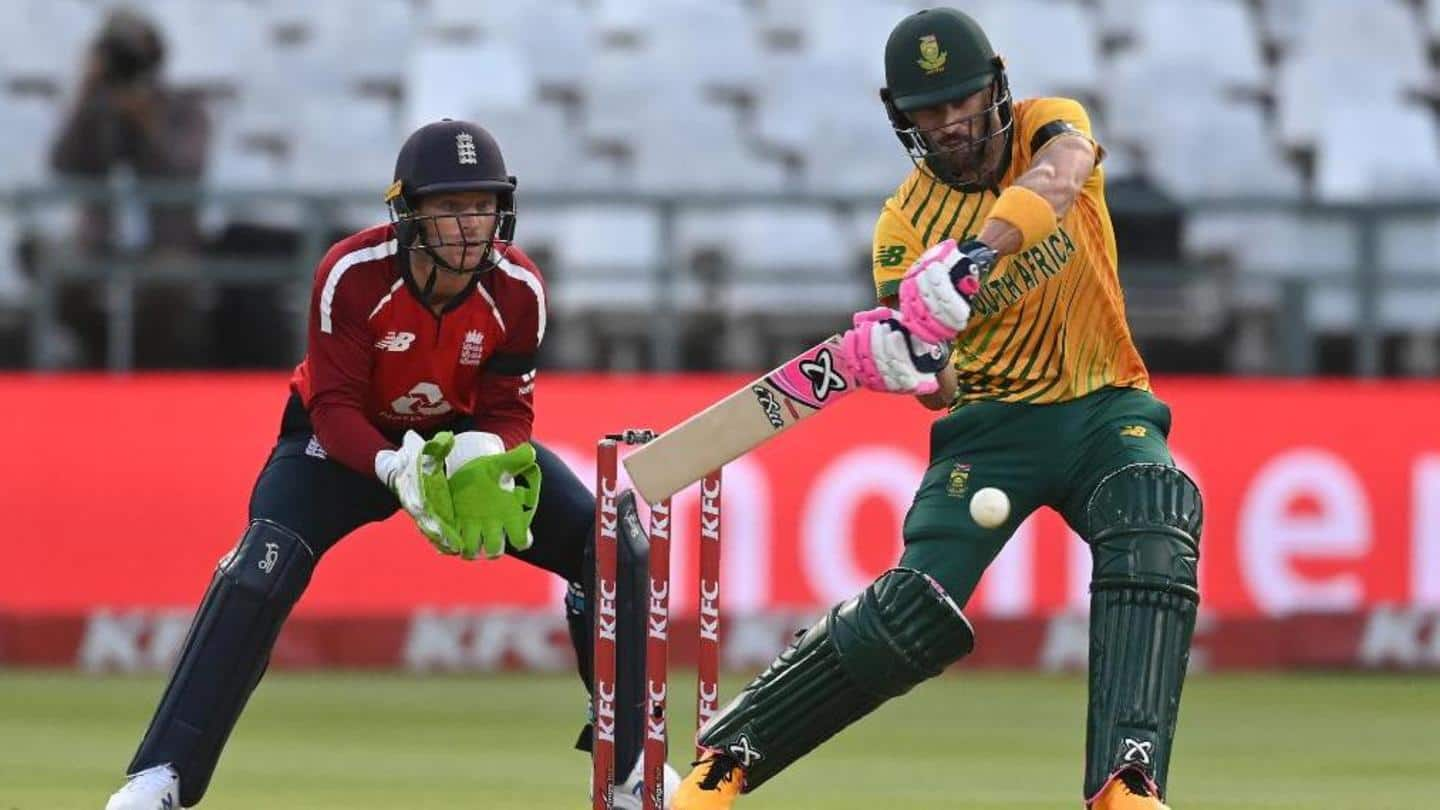 England beat South Africa in first T20I: Records broken