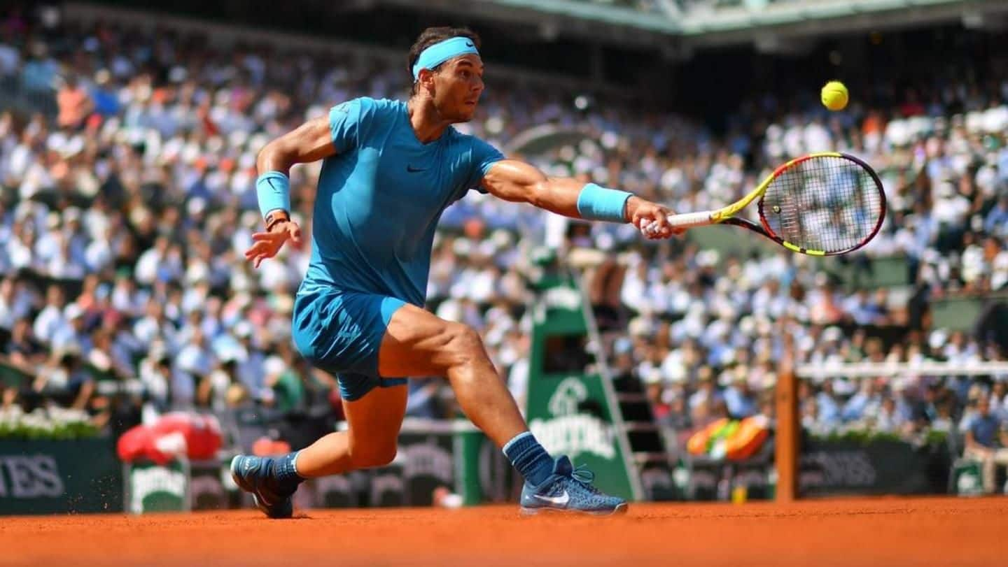 List of all records broken by Nadal at French Open