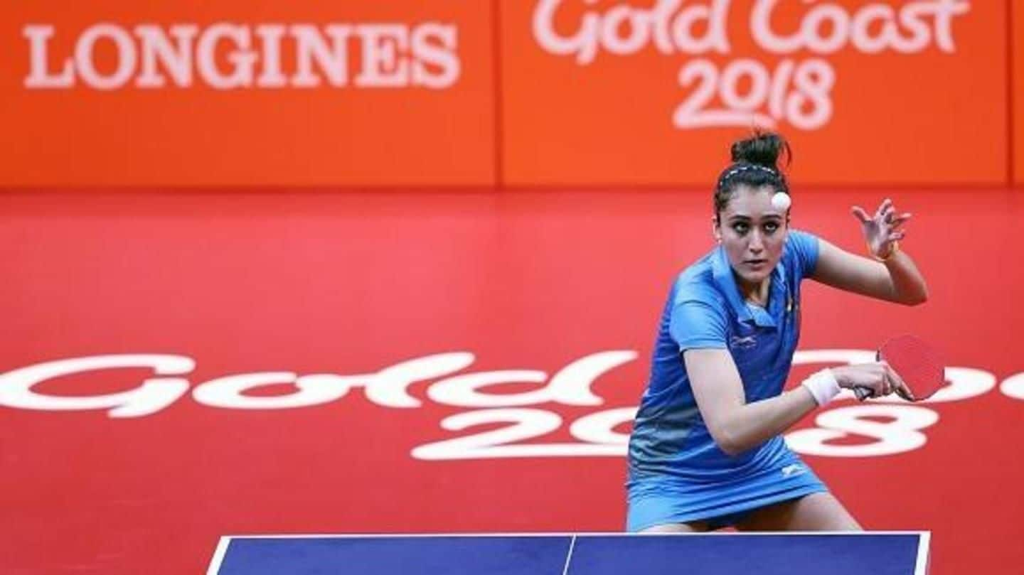 21st CWG: Gold medal for Indian women's table tennis team