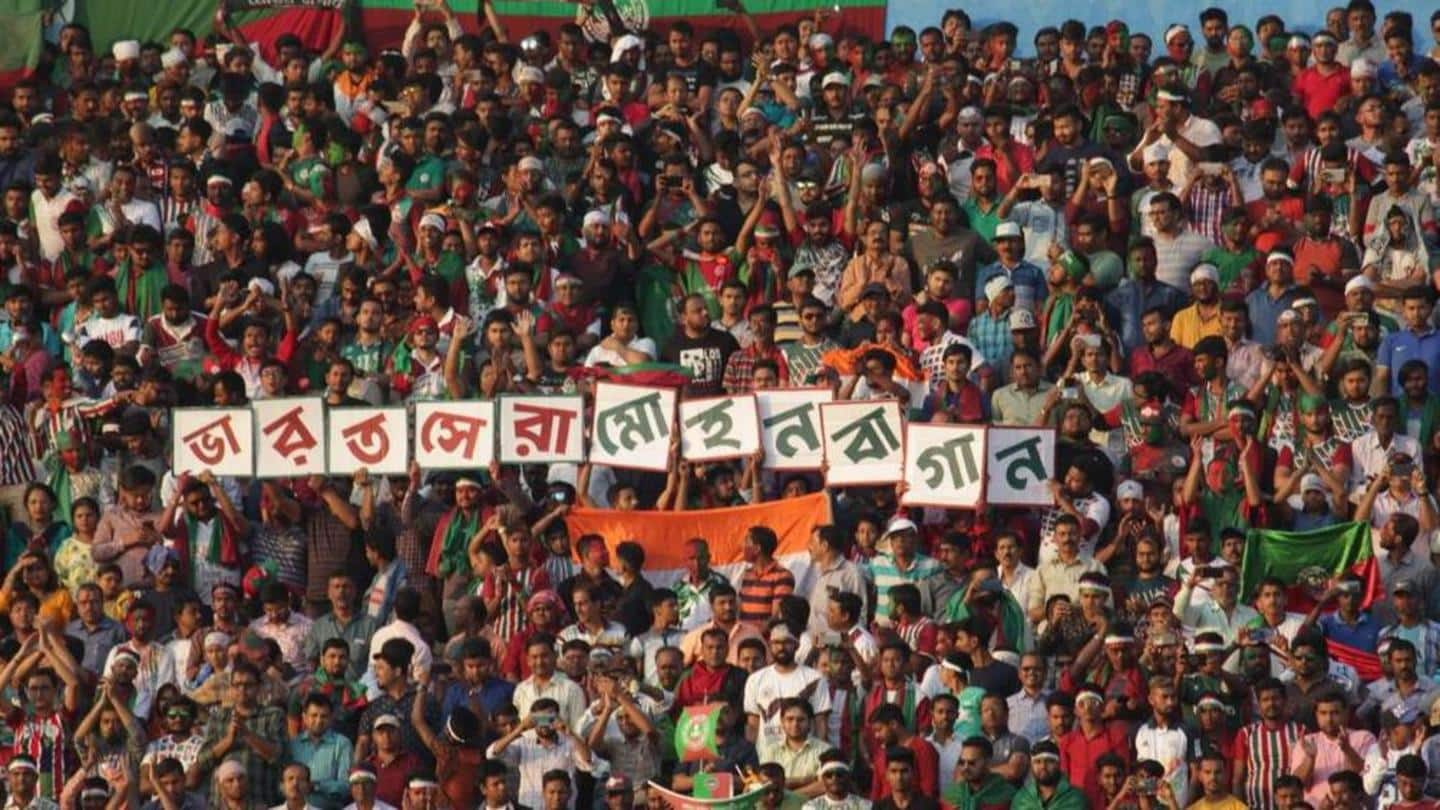 ATK Mohun Bagan will sport iconic green and maroon jersey