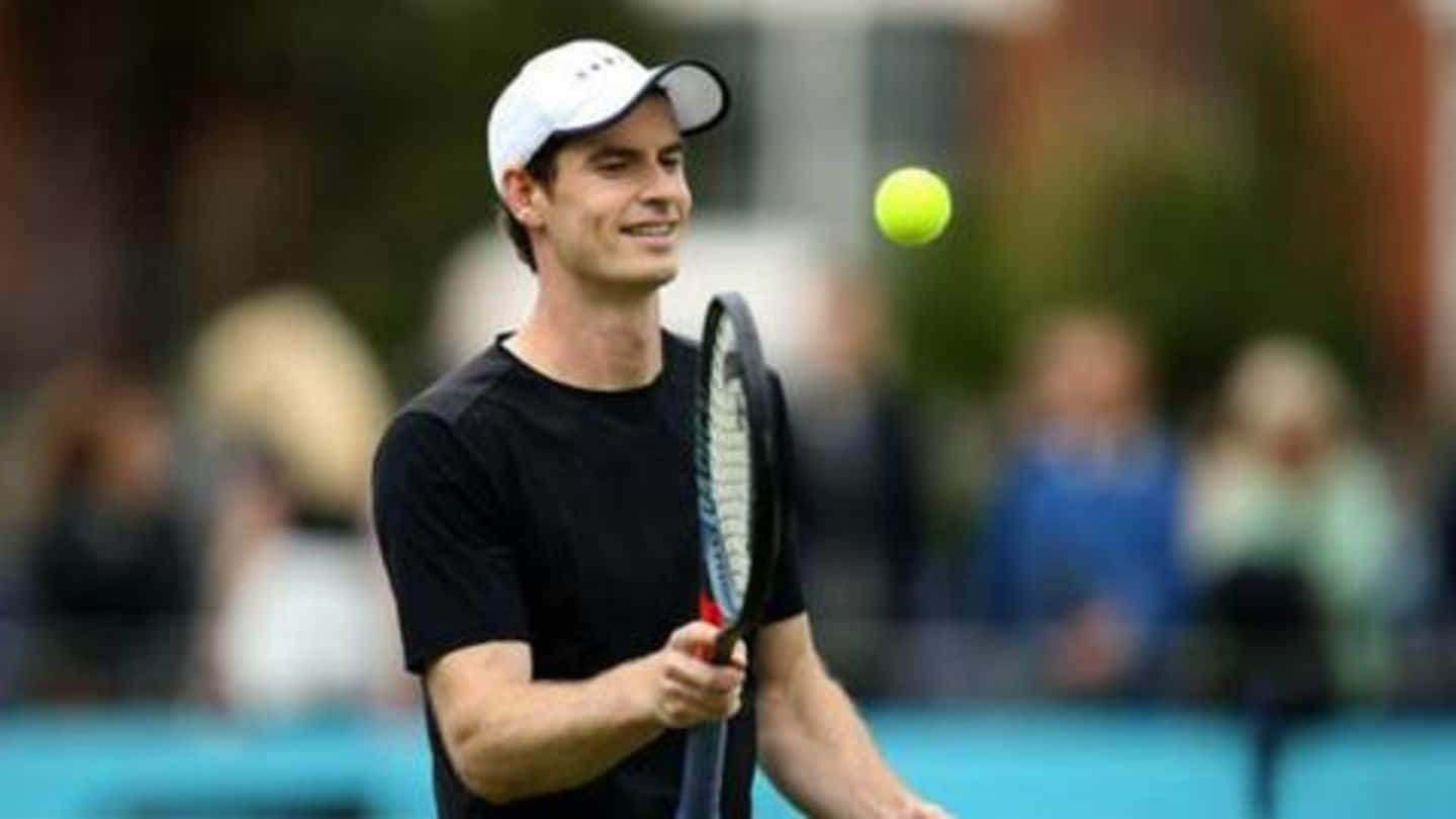 Washington Open: Andy Murray to partner with brother Jamie