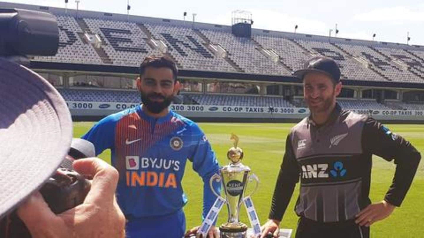 New Zealand vs India, 1st T20I: Preview, Dream11 and stats