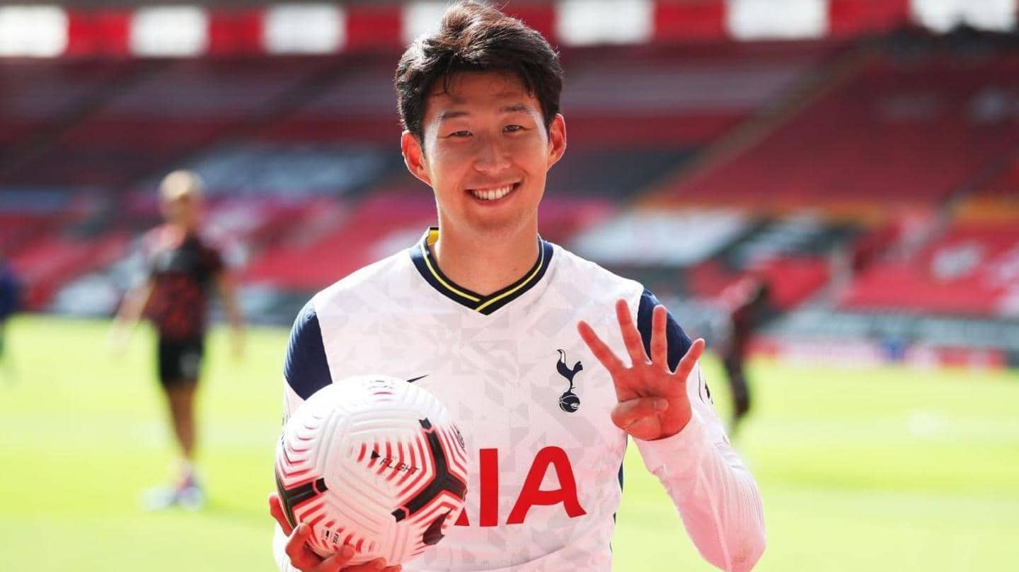 Premier League 2020-21: A look at Son Heung-min's remarkable numbers