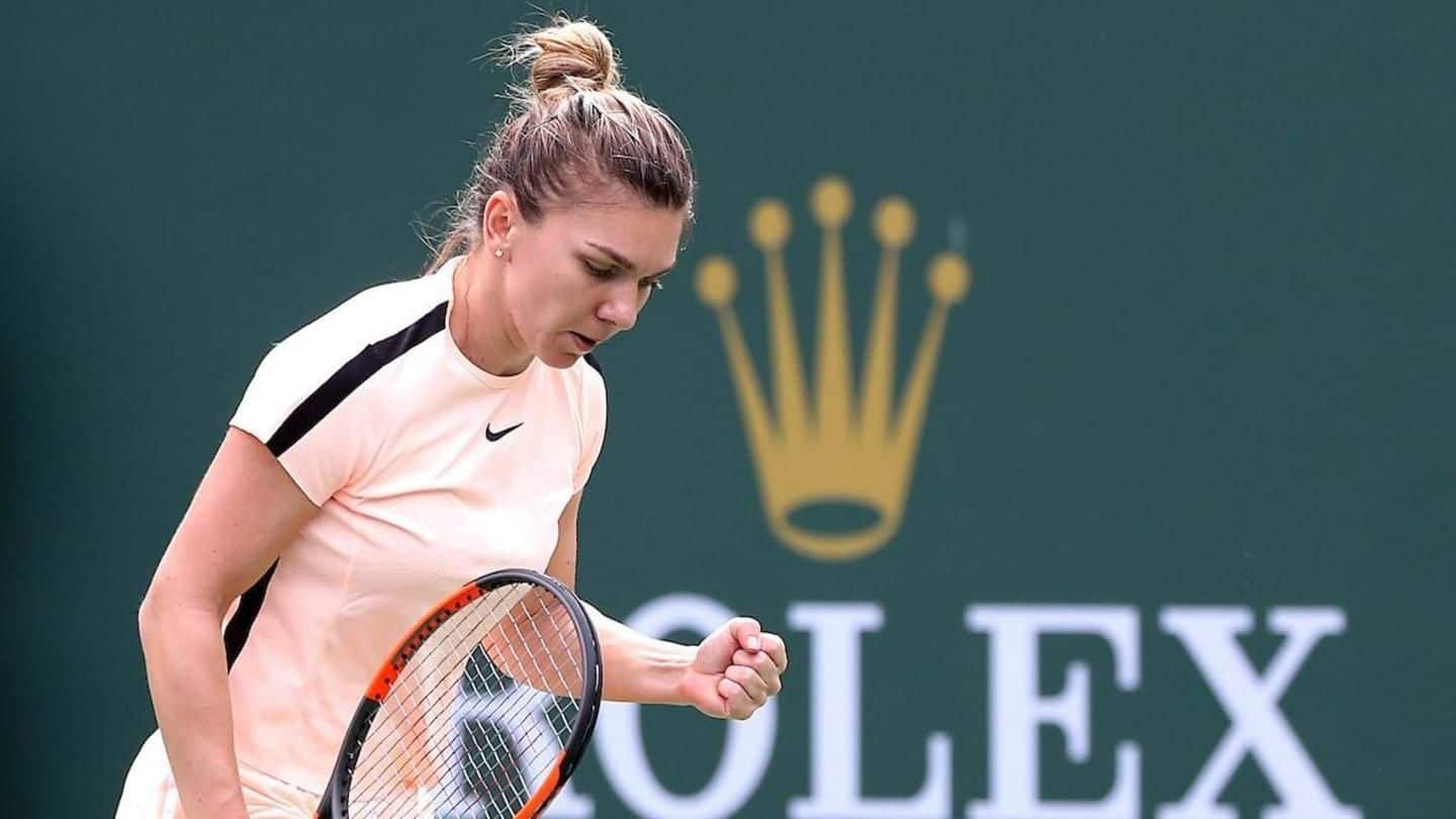 Indian Wells: World number 1 Simona Halep in last eight