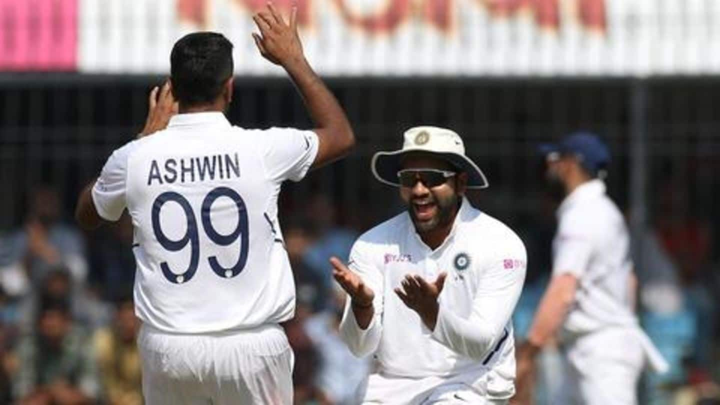 Ashwin joint-fastest to 250 Test scalps at home: Details here