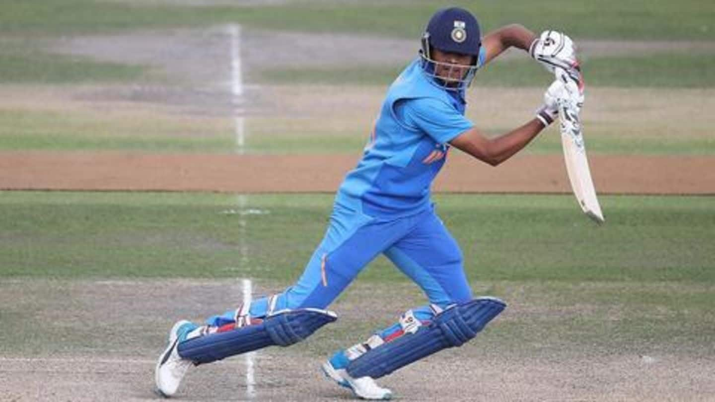 Priyam Garg to lead Team India in U-19 World Cup