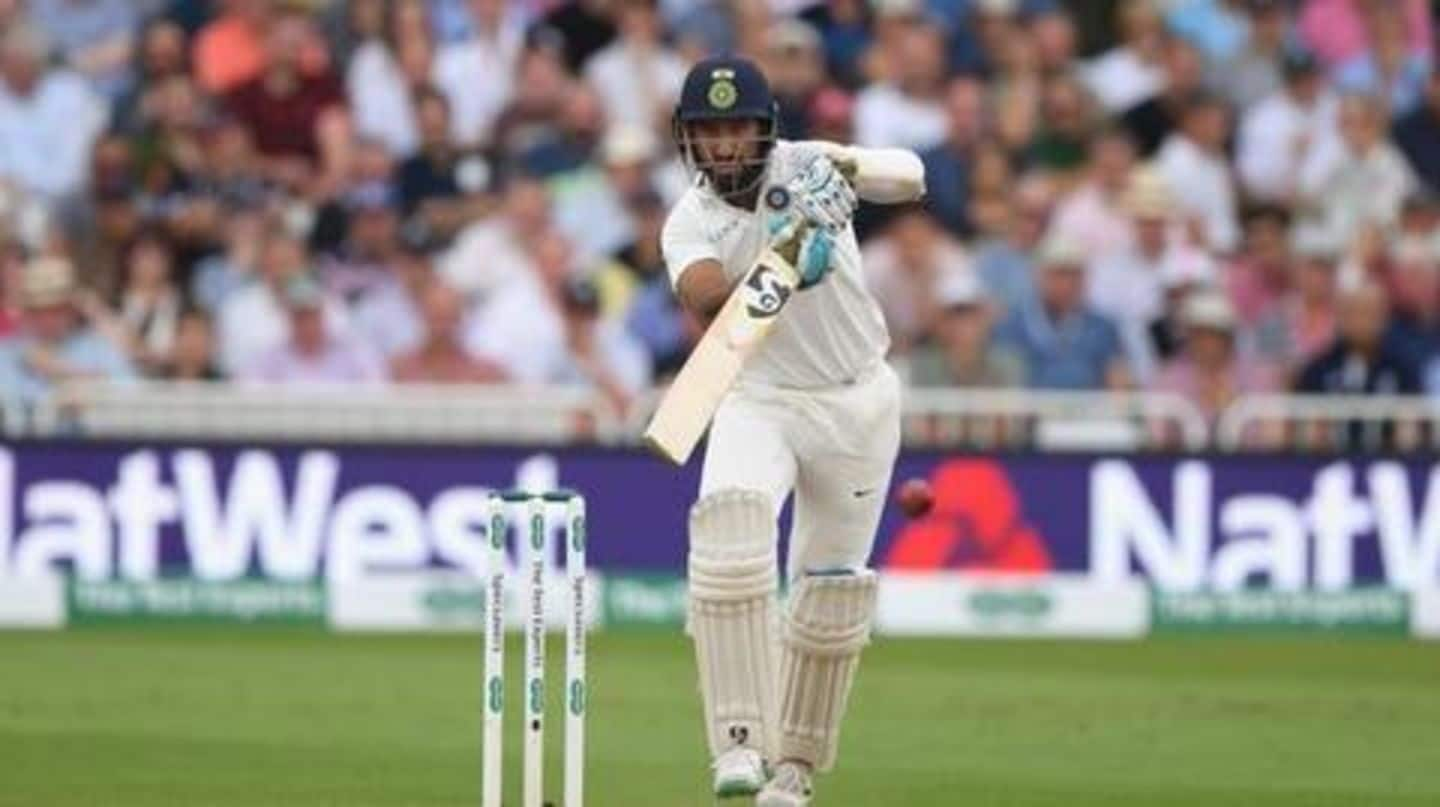 Records held by Cheteshwar Pujara in Test cricket