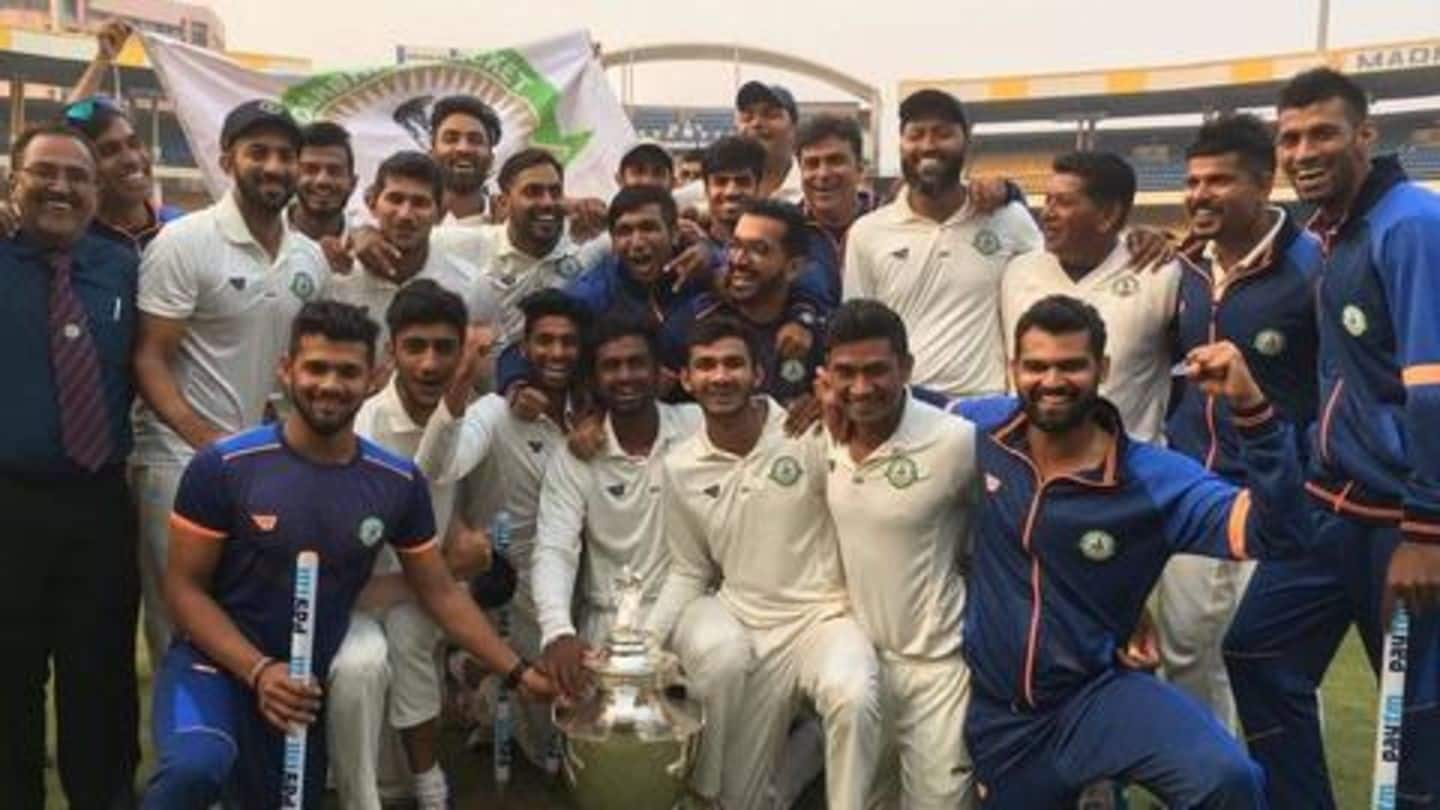 Ranji Trophy 2019-20: Here's all that you need to know