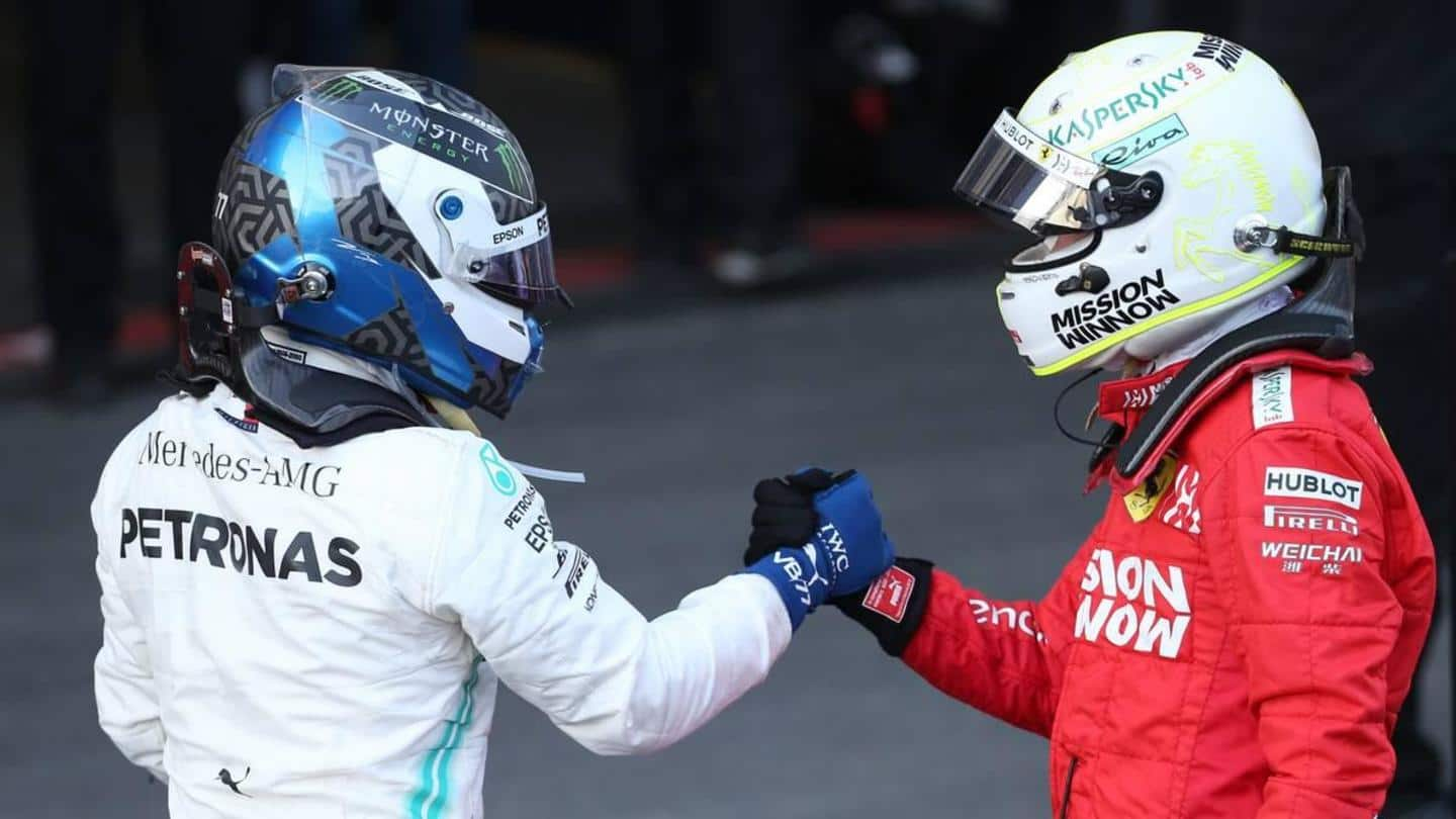 Mercedes not considering Sebastian Vettel for 2021, says Valtteri Bottas