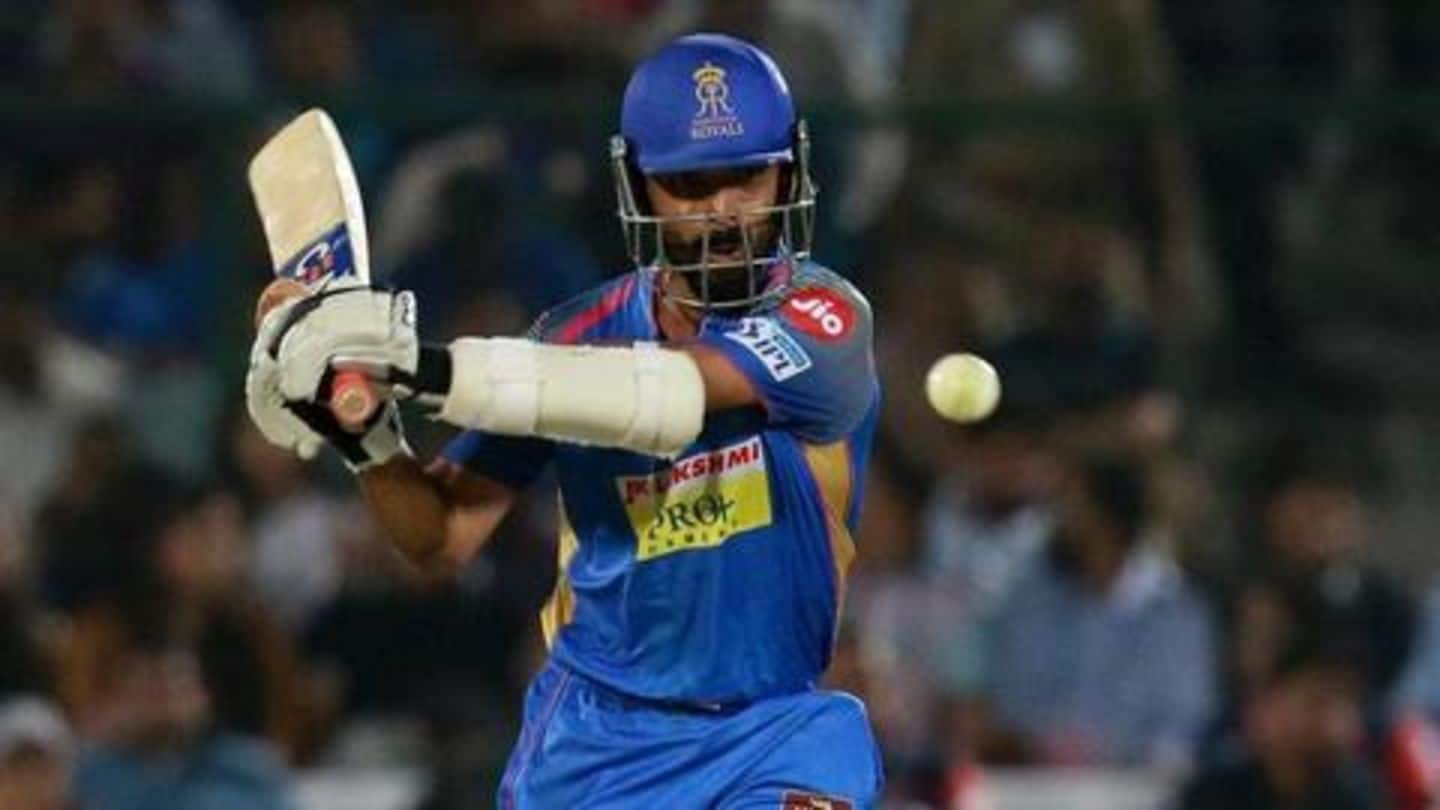 IPL: Ajinkya Rahane to leave Rajasthan Royals for Delhi Capitals