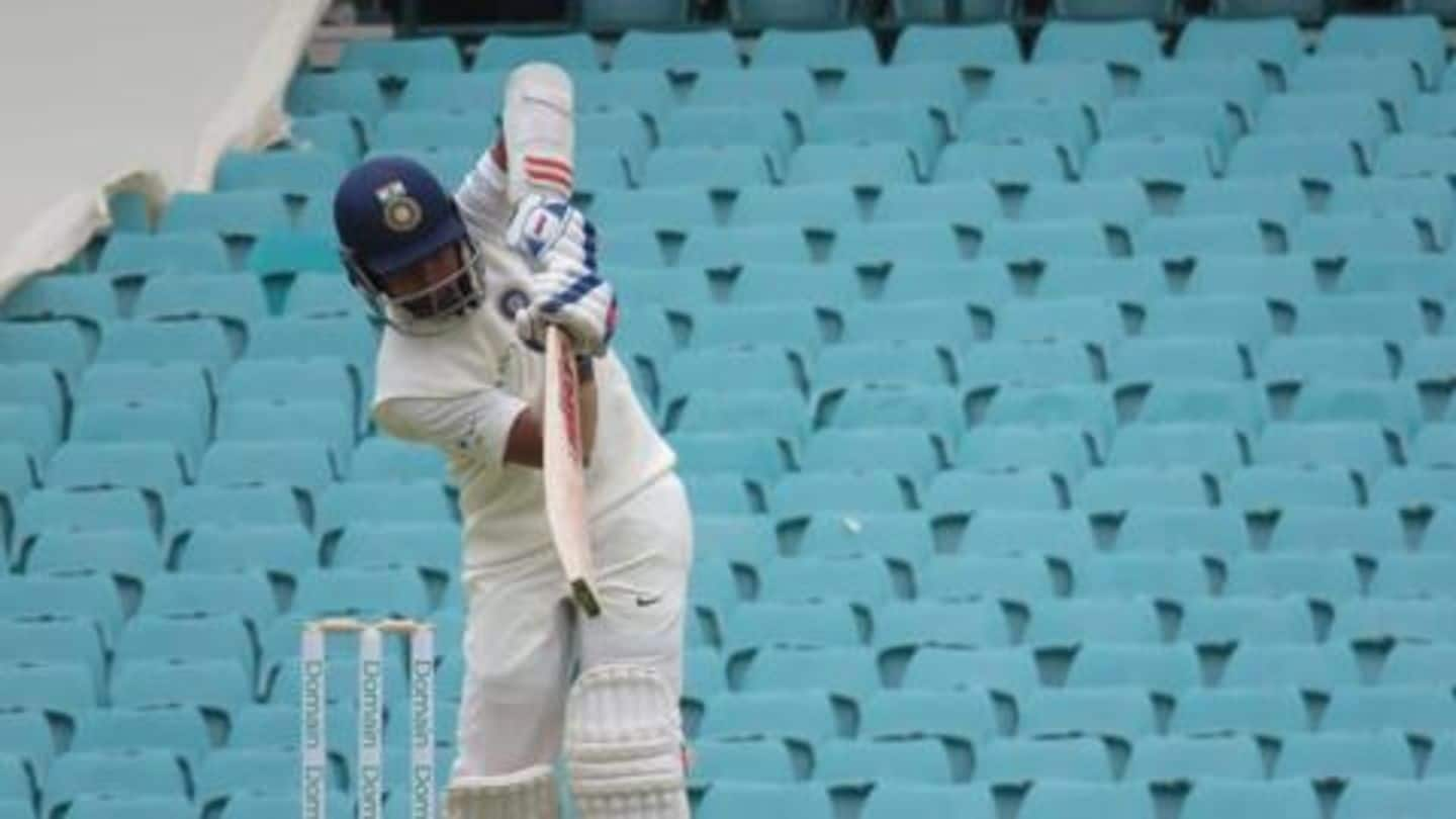 Prithvi Shaw scores a quick-fire 66 against Cricket Australia XI