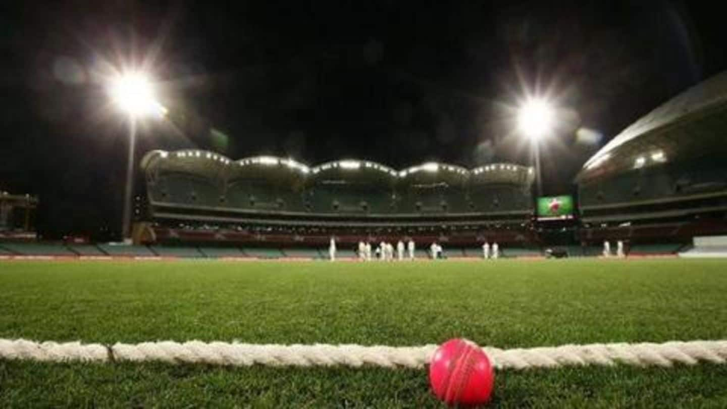 BCCI orders six dozen pink balls for Day-Night Test