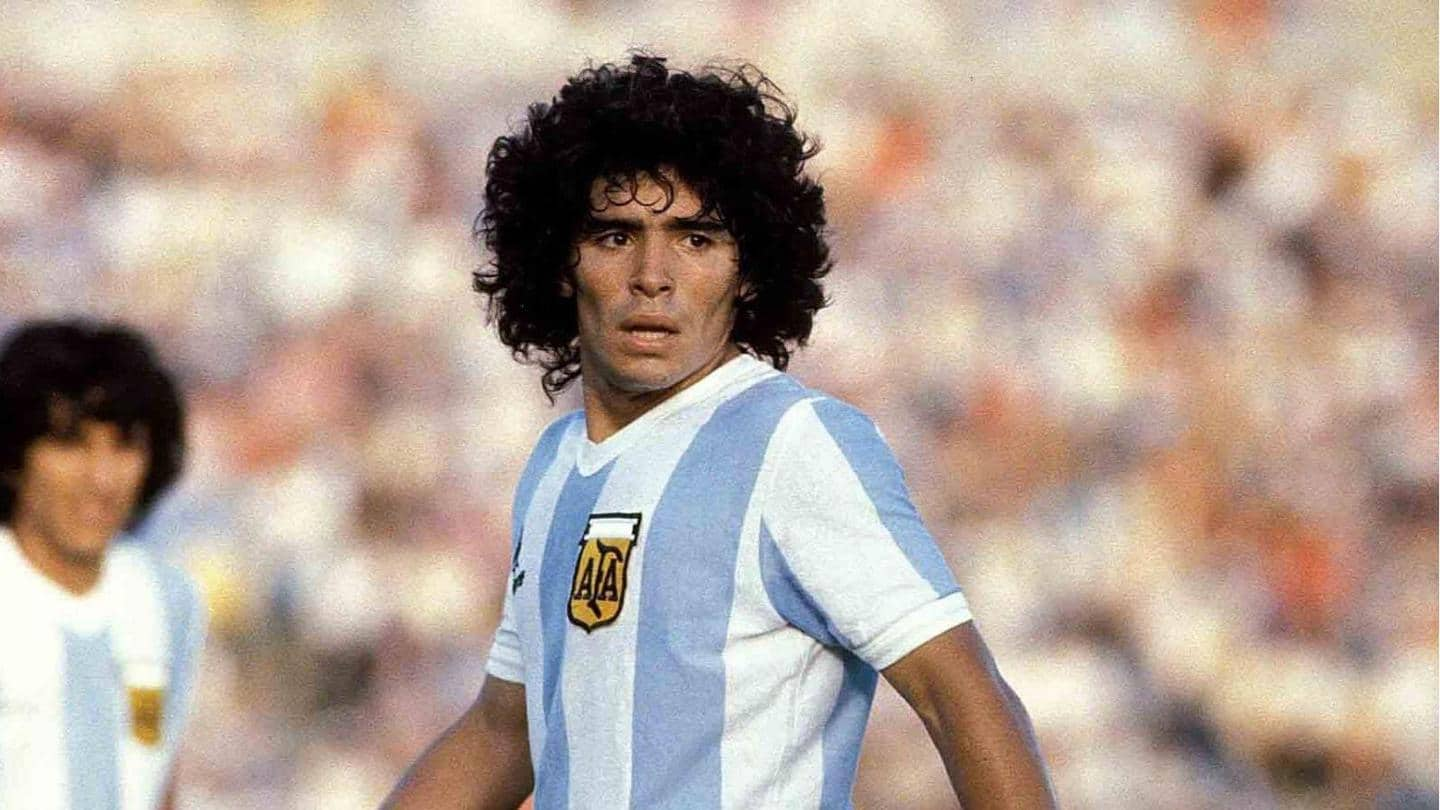 Diego Maradona dies aged 60: His career records and stats