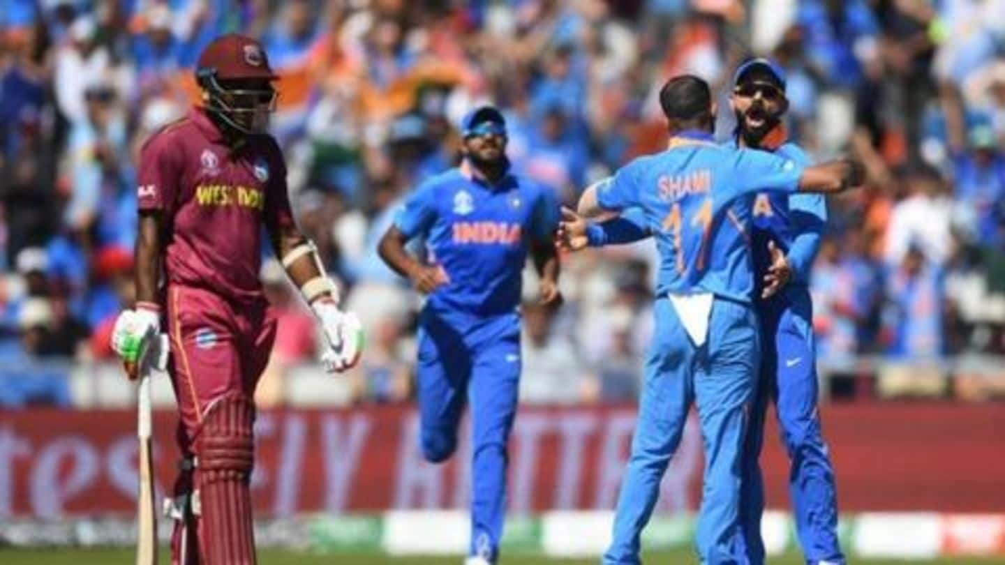 Five numbers which show India's dominance over Windies