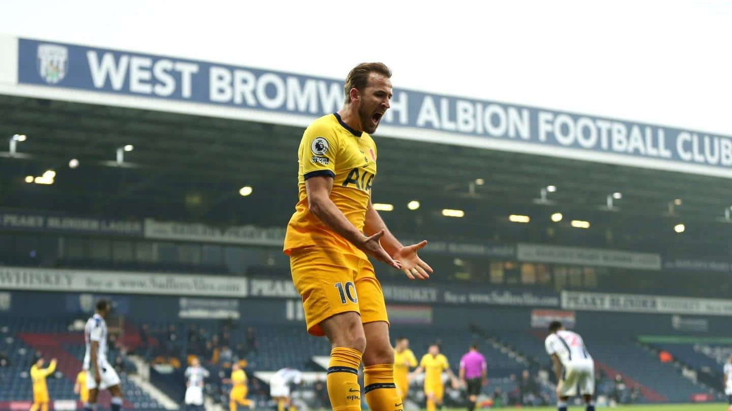 Premier League 2020-21: A look at Harry Kane's impressive numbers