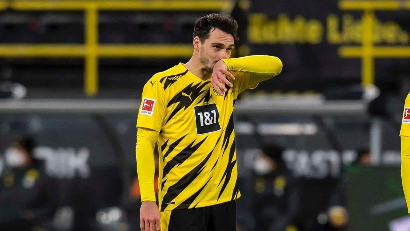 Borussia Dortmund suffer worst home defeat since 2009: Records broken