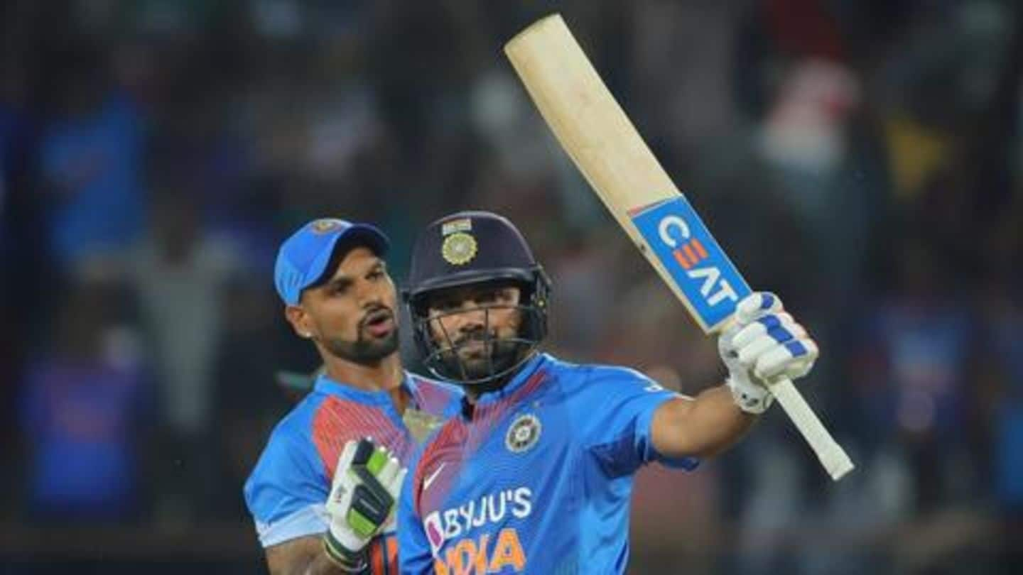 100 T20Is for Rohit Sharma: Here're his best career moments