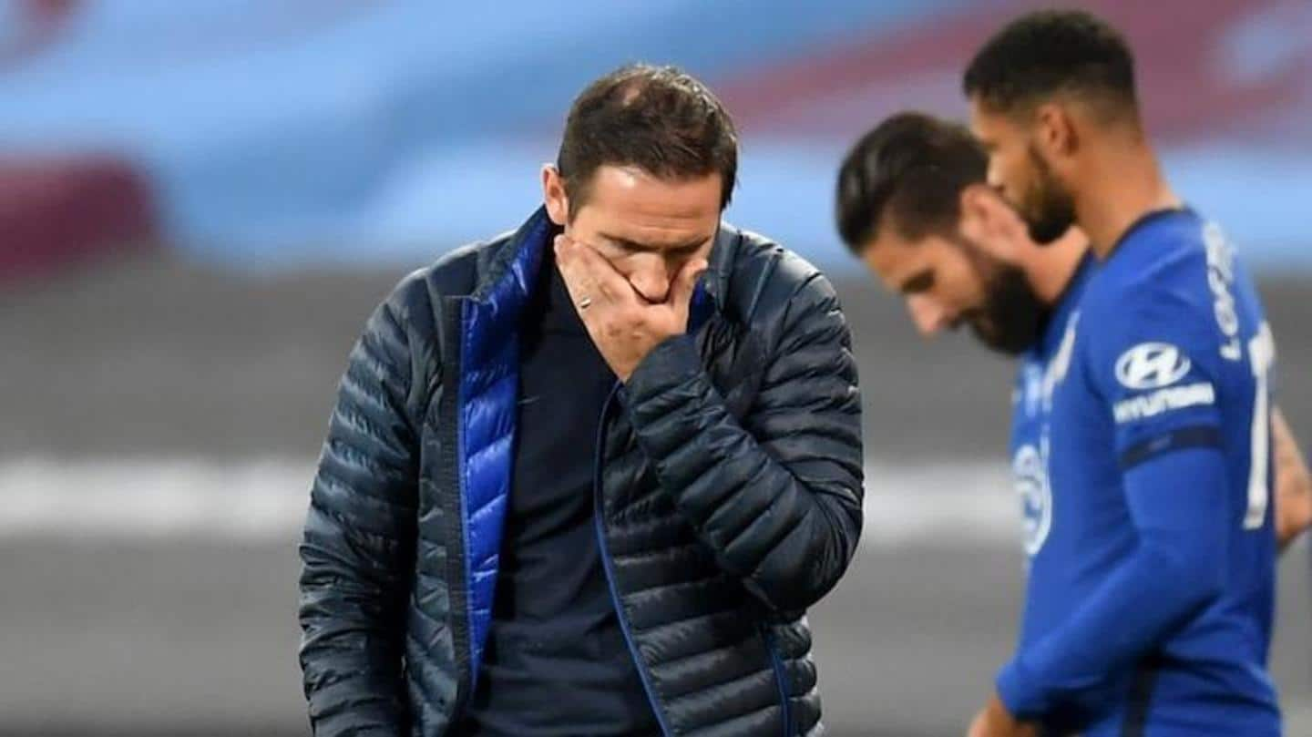 A look at Frank Lampard's numbers as Chelsea boss