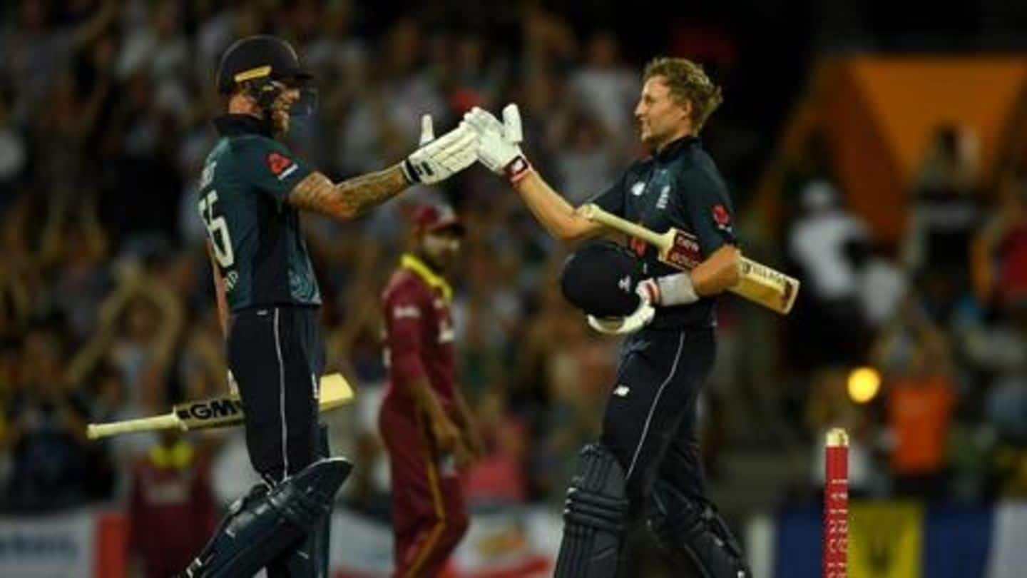 England beat West Indies in first ODI: Here're records broken