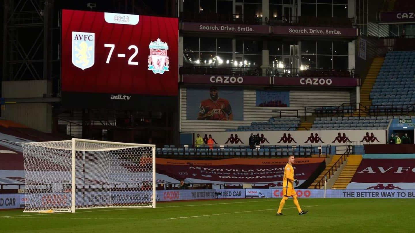 Presenting the best Premier League matches of 2020