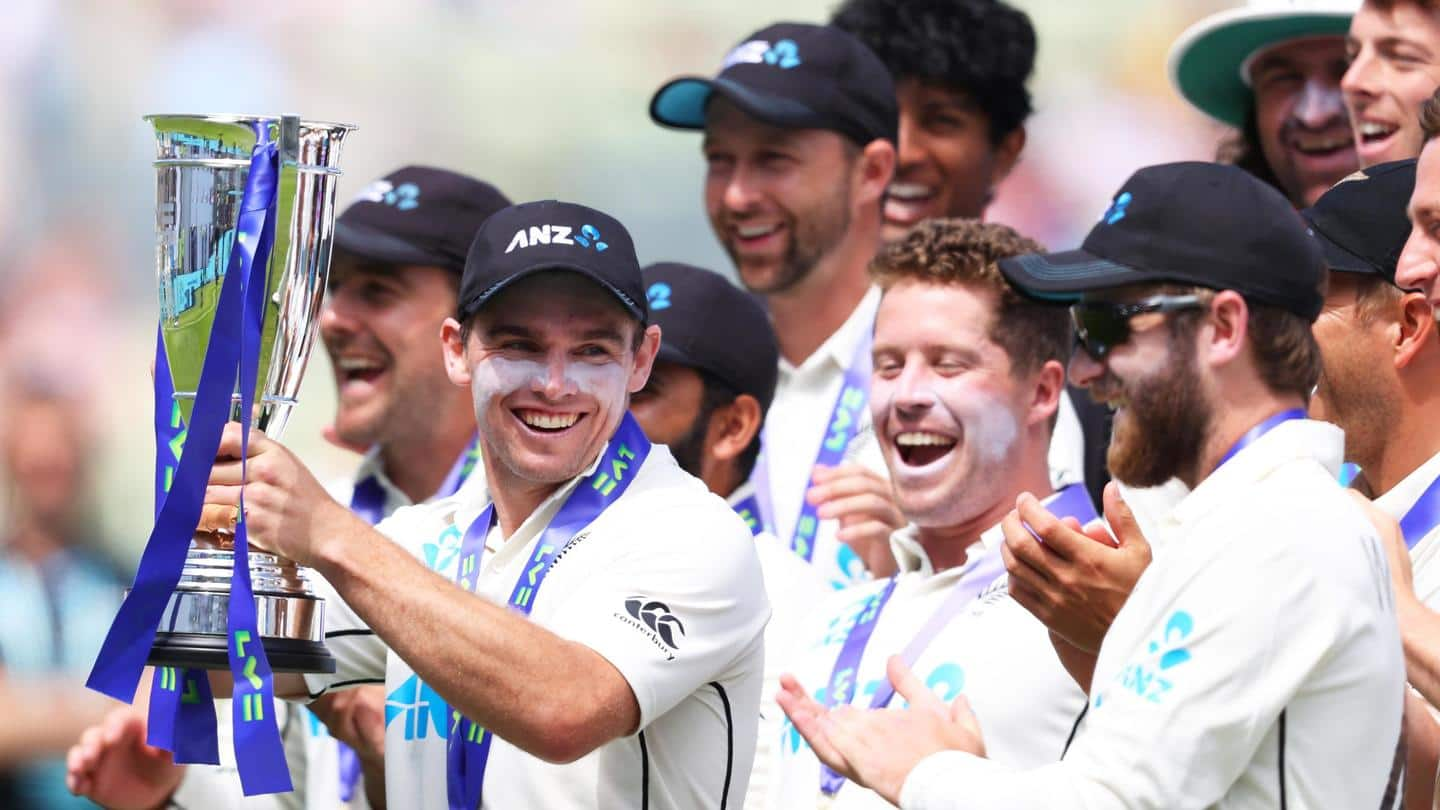 ICC World Test Championship final: New Zealand name 15-member squad